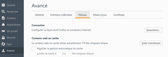option firefox